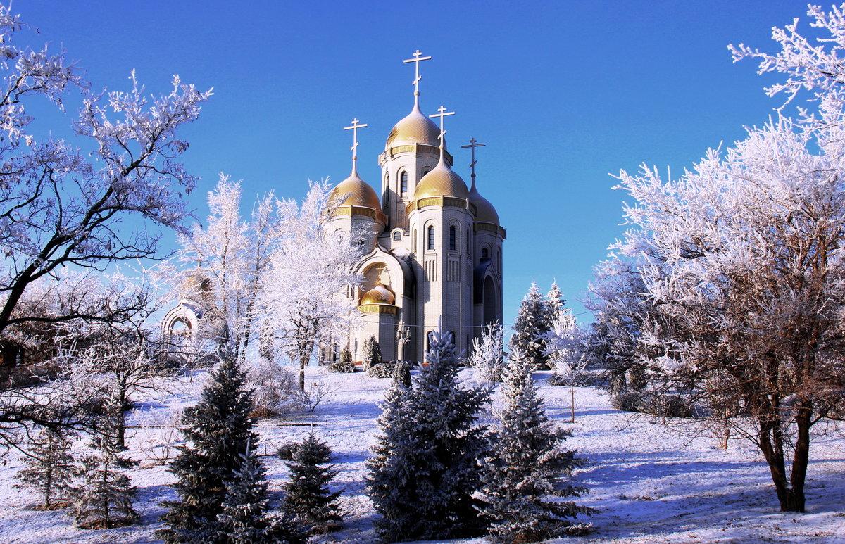 Зима в волгограде картинки