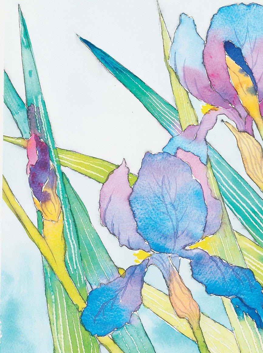 придумать, как цветы акварелью картинки для начинающих свадебной флористике