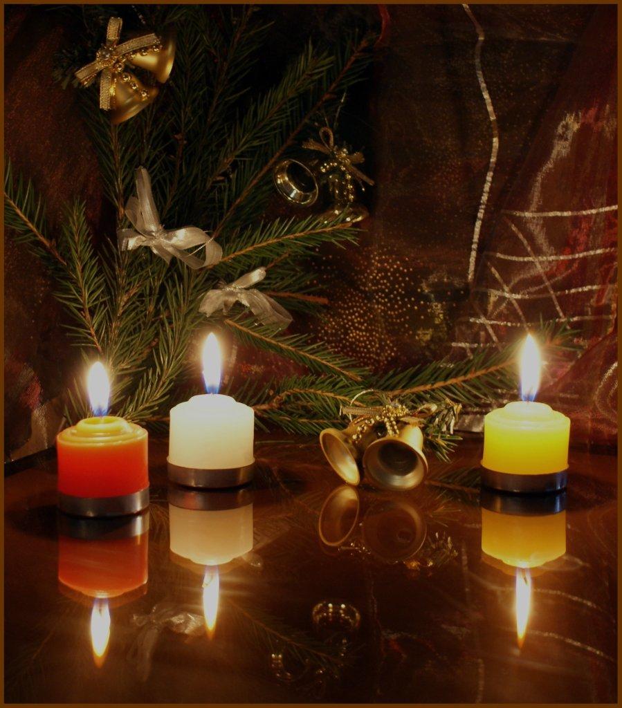 то, фото елка новогодняя со свечами движение