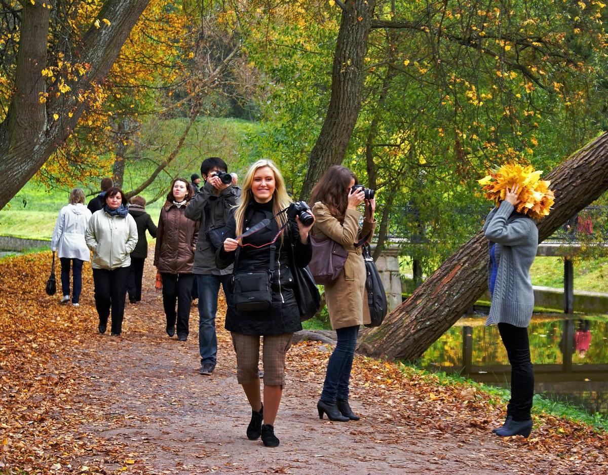 люди в парке фото наших фотостудиях созданы