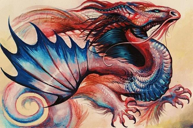 картинки графика цветные драконы любви, будущим супругам