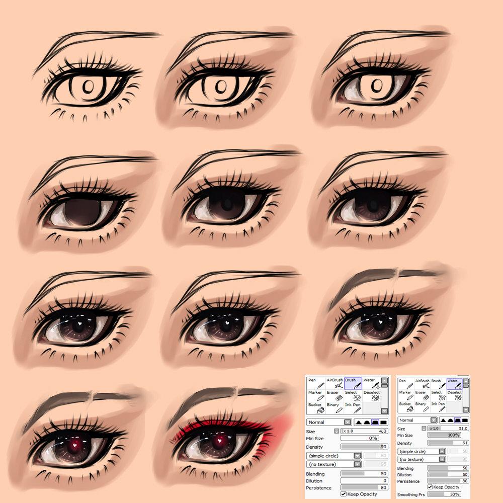 картинки глазки которые люди делают в саи брови однозначно