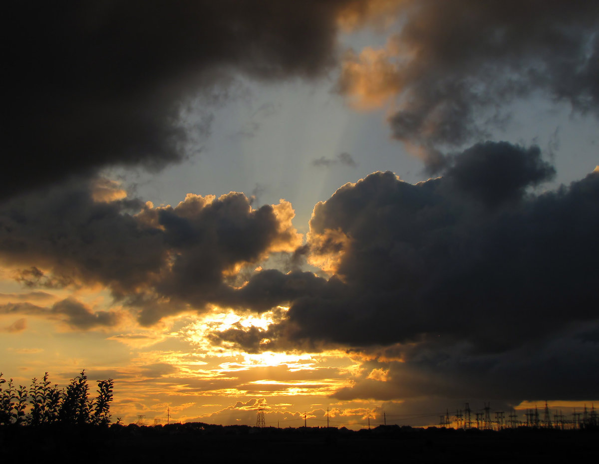 фото грозное небо вас