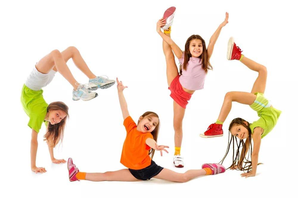 Картинка детский фитнес, днем рождения