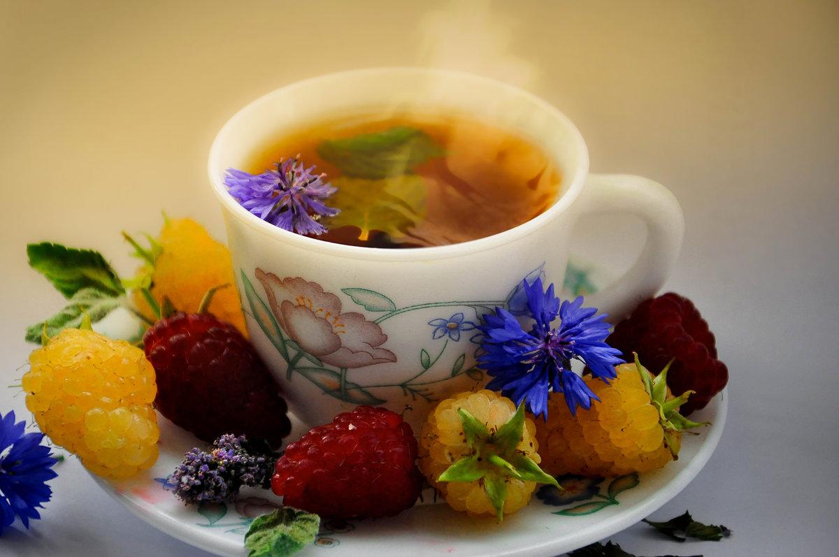 Открытки про чай