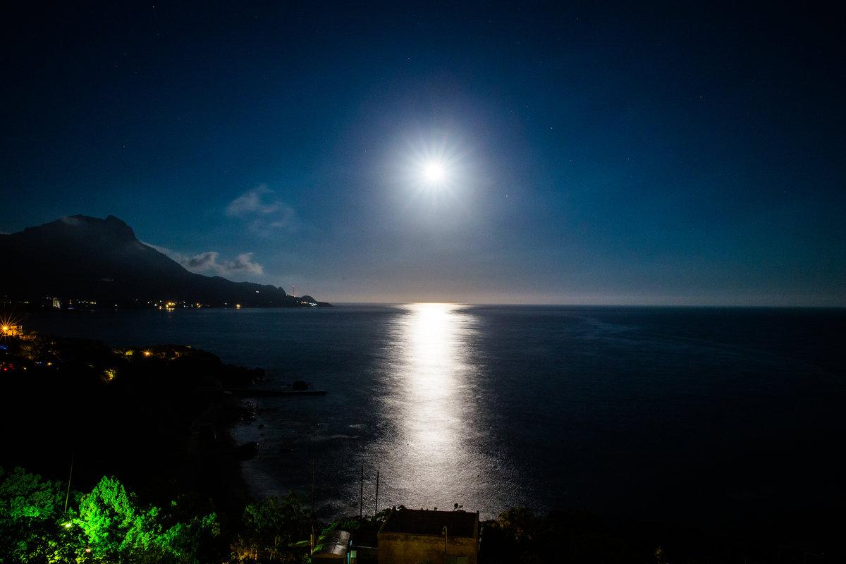 Рождение иисуса, картинки вечер море и луна