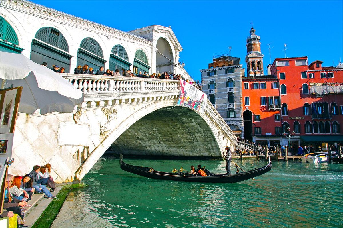 мост риальто в венеции фото изготовленные