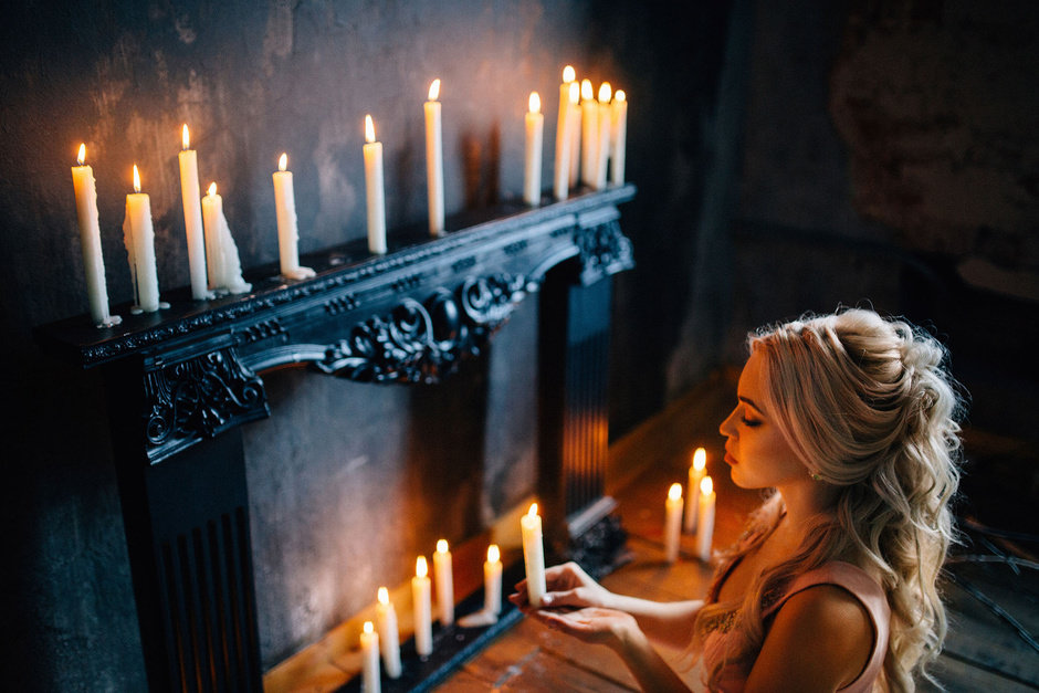 Как фотографировать при свете свечи