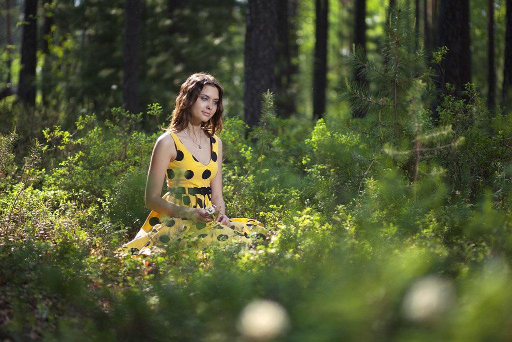 как фотографировать в лесу днем внимательно следят