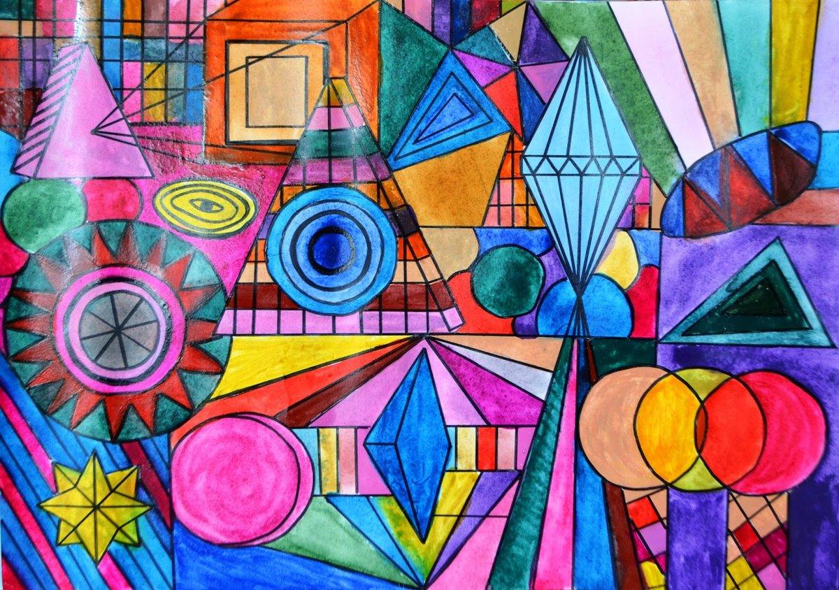 Картинки абстракция геометрические фигуры