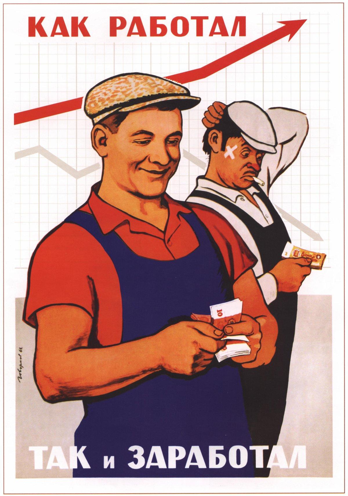 Приколы на советских картинках