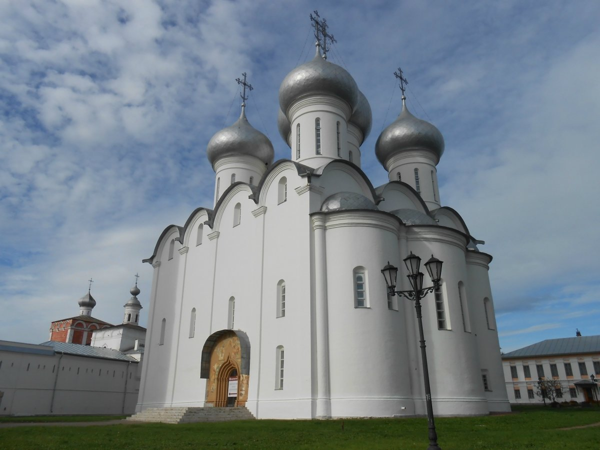 Картинка софийского собора вологда