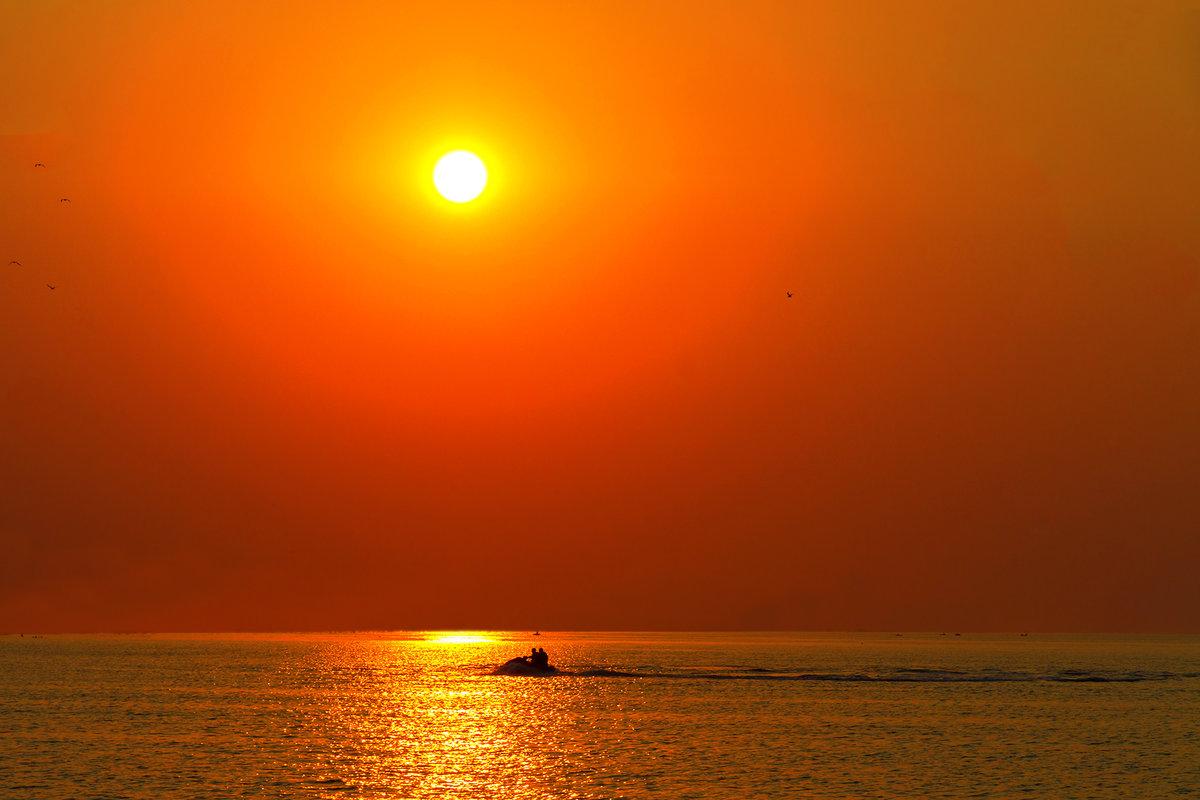 пола картинки оранжевое небо оранжевое море решетова радуется