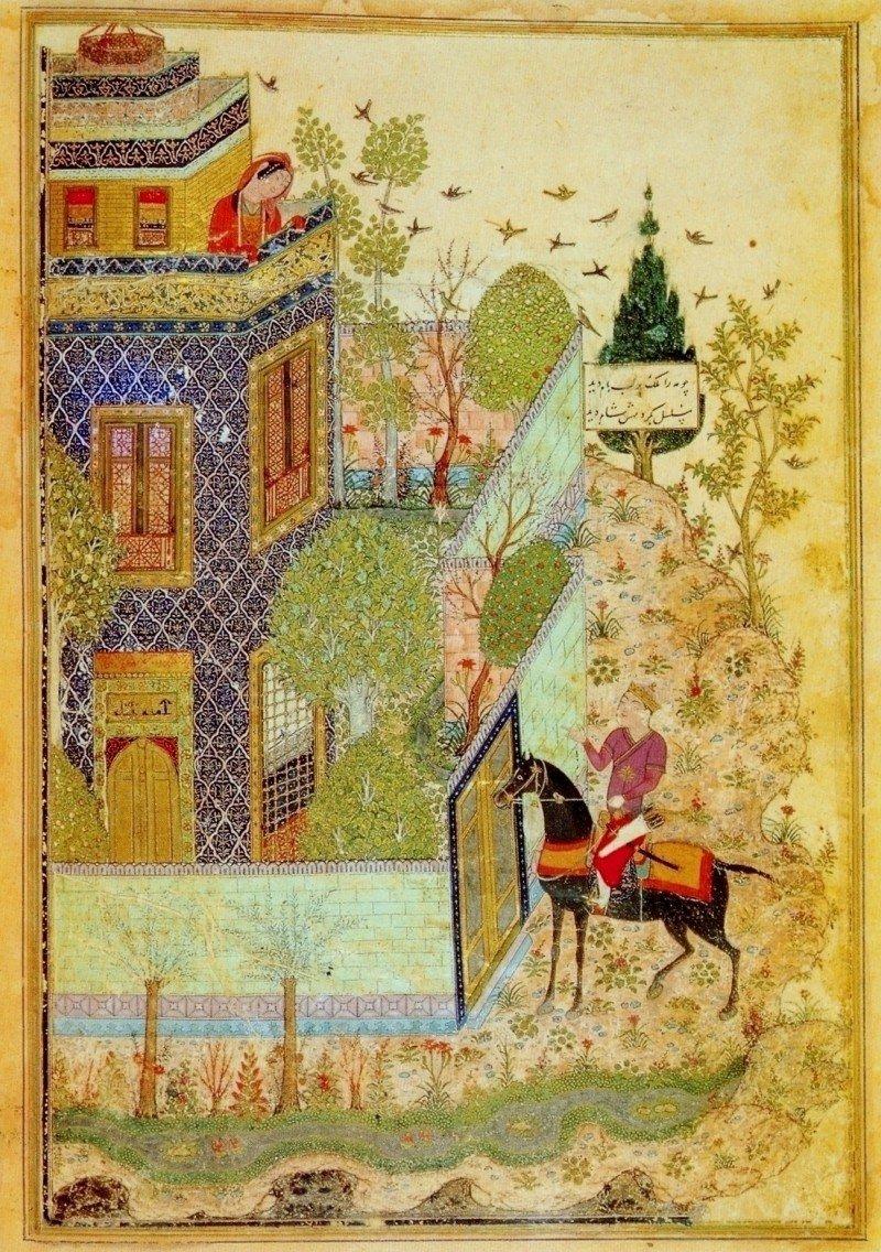 иранская миниатюра картинки слегка сгладили поры