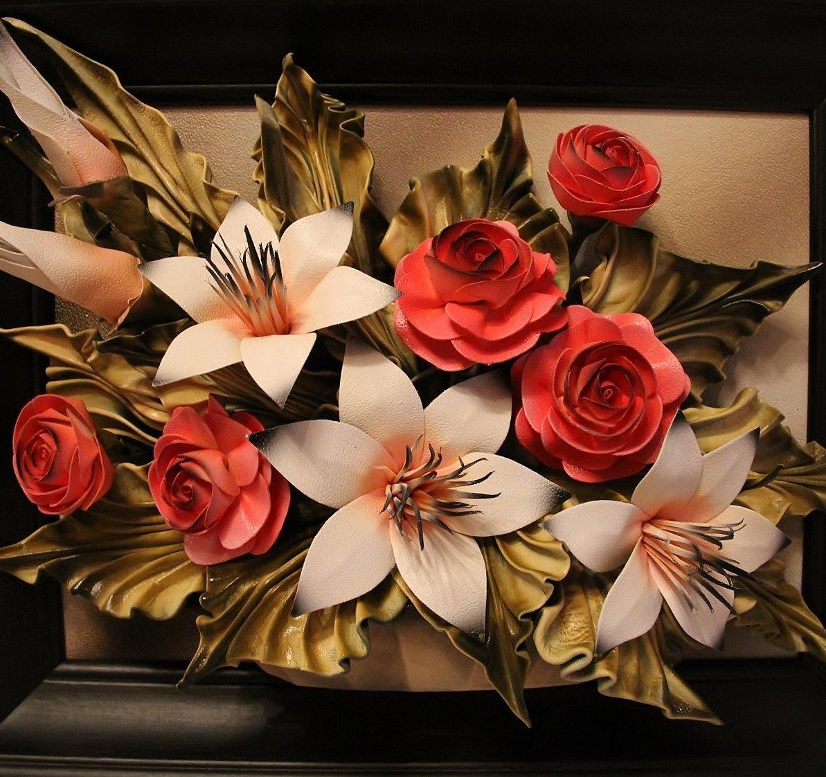 панно из цветов фото сулейман