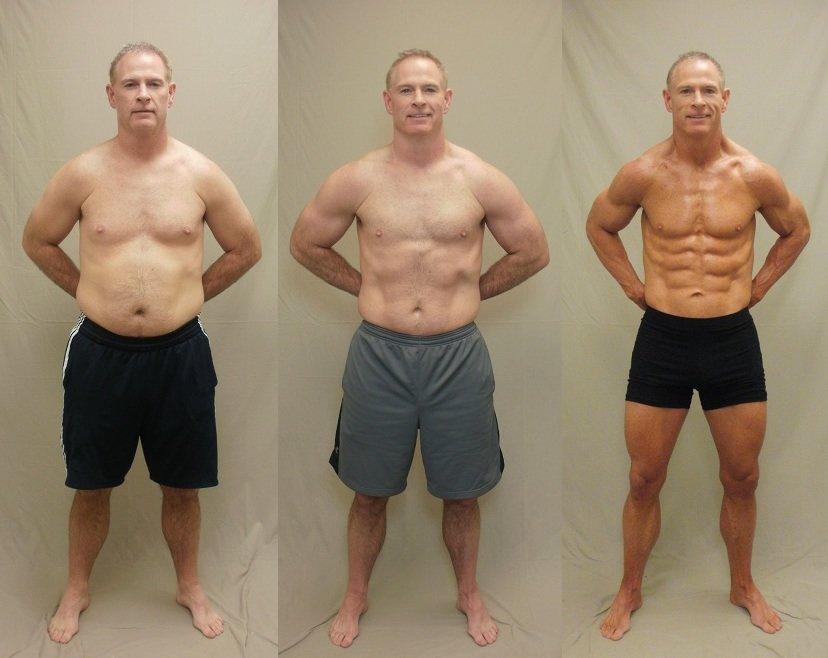 несколько дней фитнес до и после фото мужчины мало выбрать