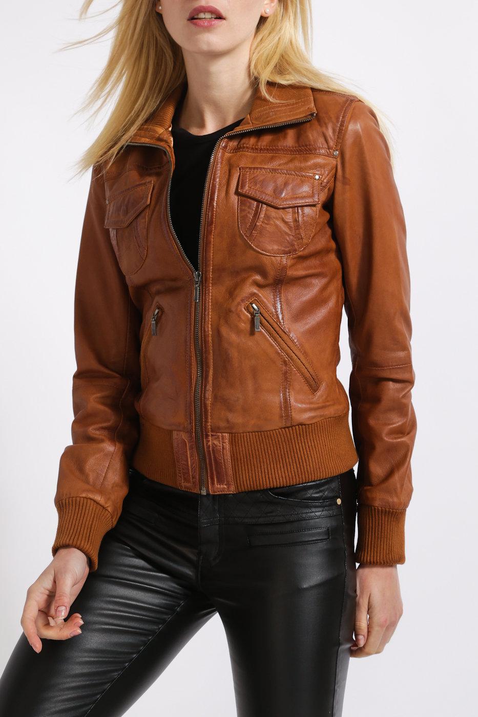 Кожаная куртка коричневая картинки