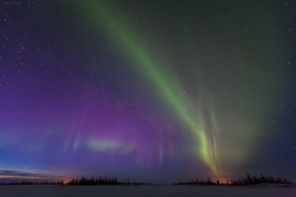 Картинки севера природа севера, новым годом