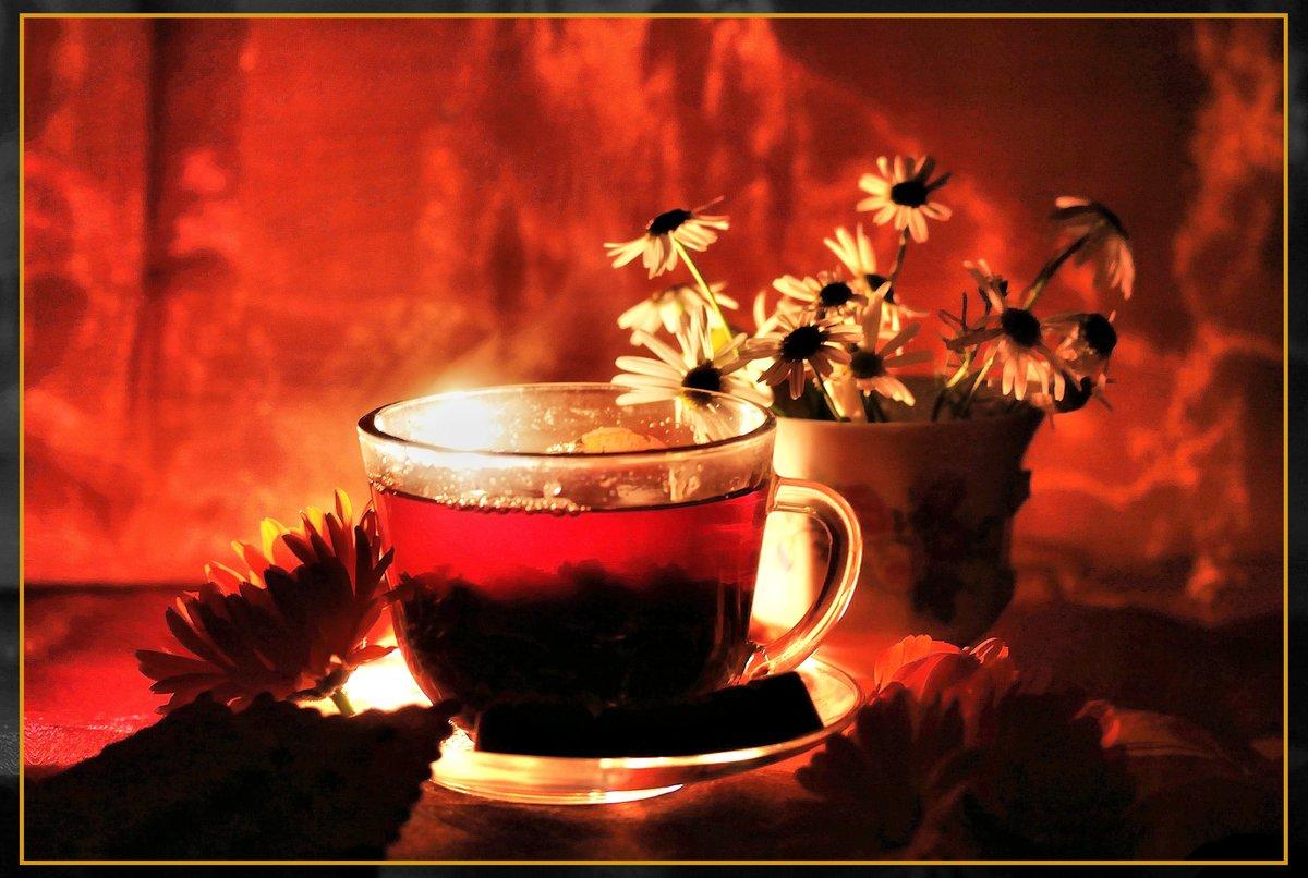 Вечерний чай картинки доброго вечера
