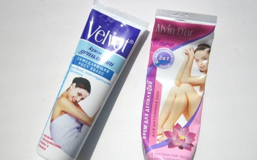 Средство для удаления волос в интимной зоне
