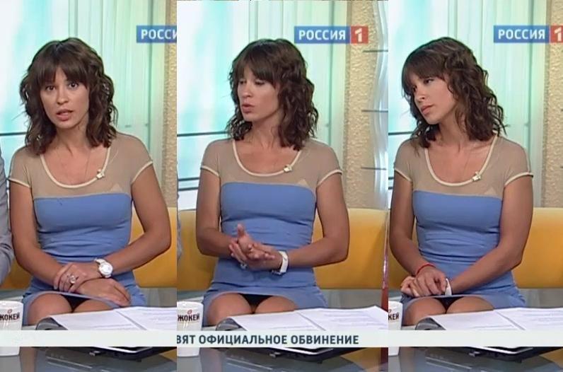 У телеведущих под юбками видео — img 13