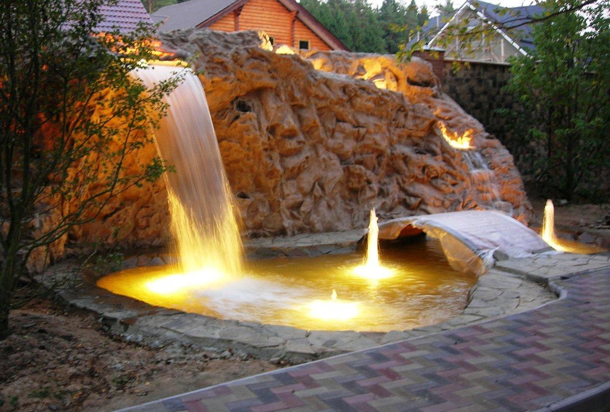 Водопады картинки дома