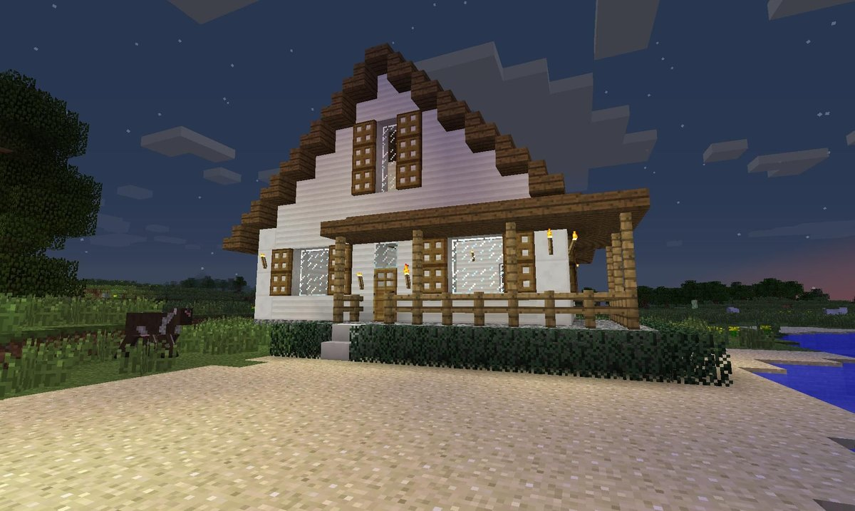 Дома в майнкрафт красивые