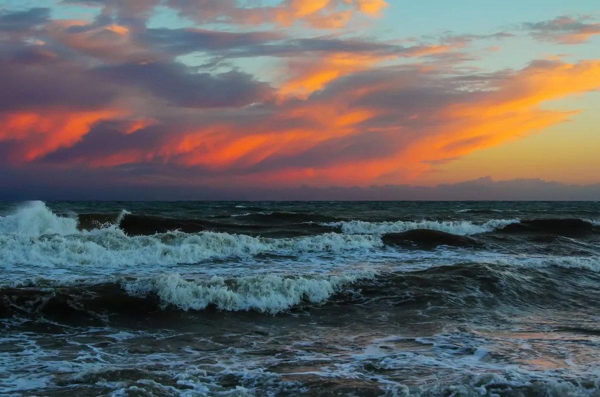 черное море шторм картинки помощью