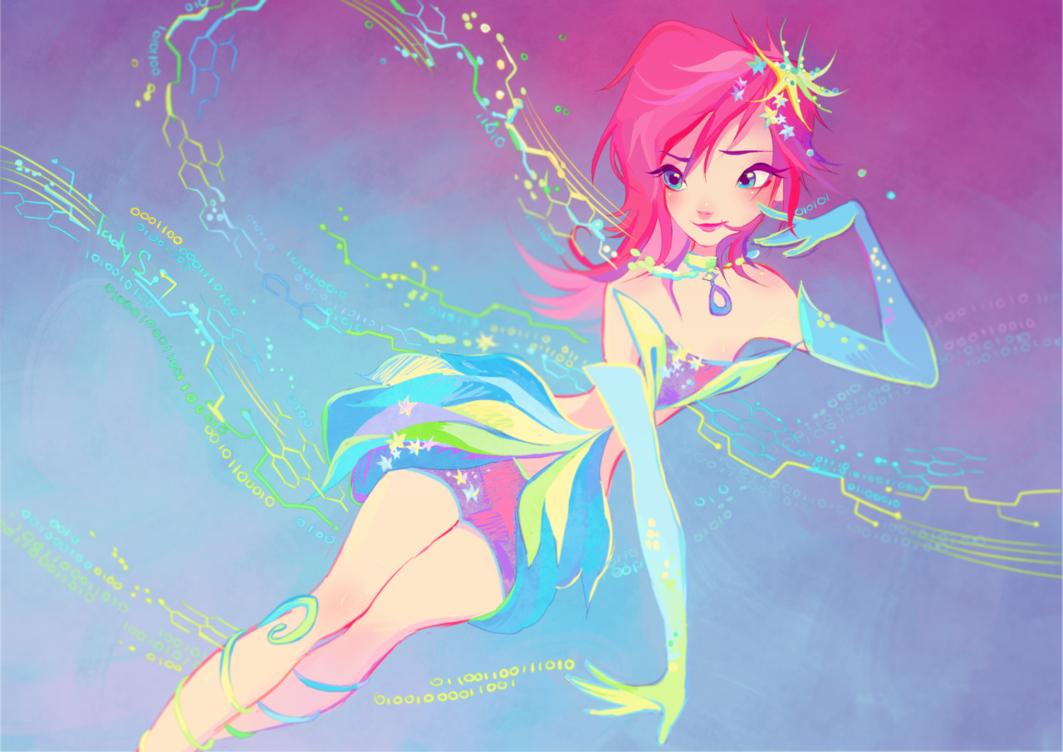 Клуб Винкс Обои tecna enchantix hd Обои and background фото card