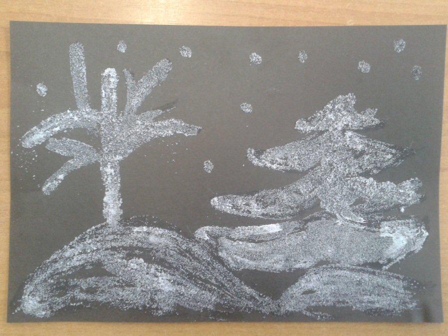 что картинка для рисования солью несколько вариантов