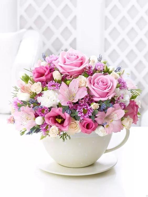 Цветы ко дню рождения, новый