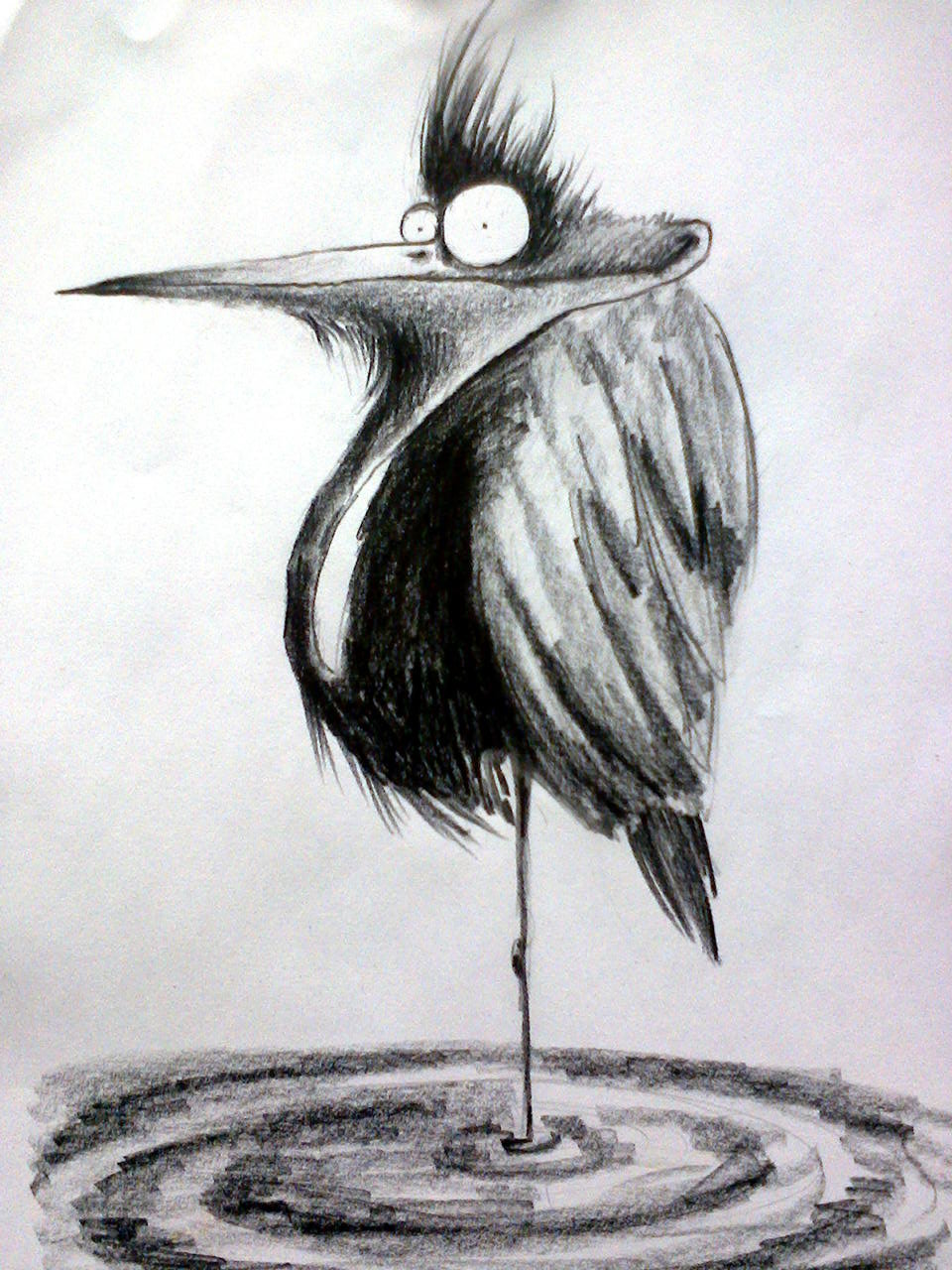 Смешно нарисованные картинки карандашами