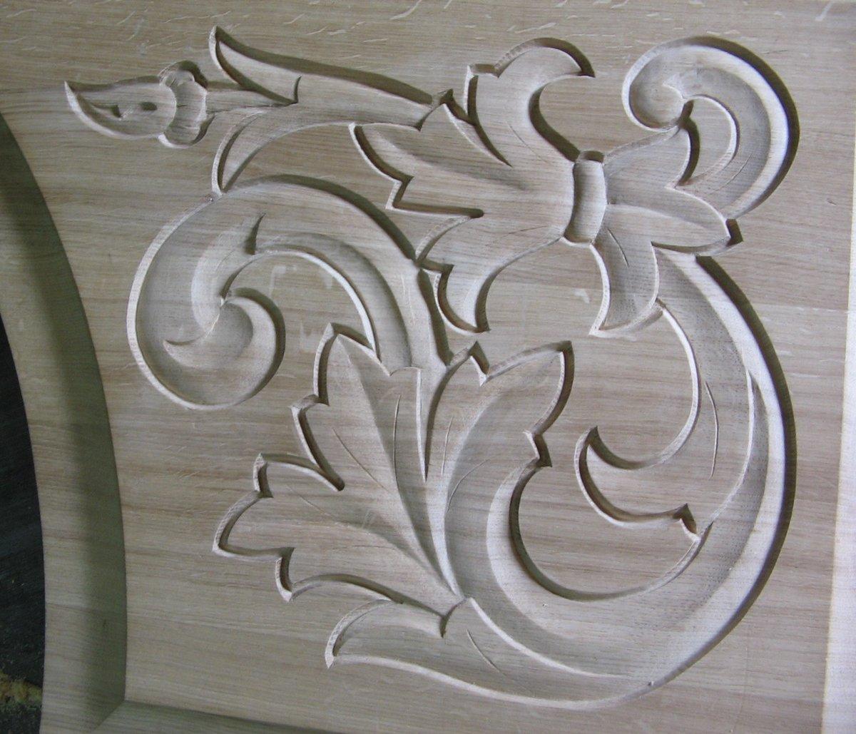 картинка узоры резьба пахла лесная малина