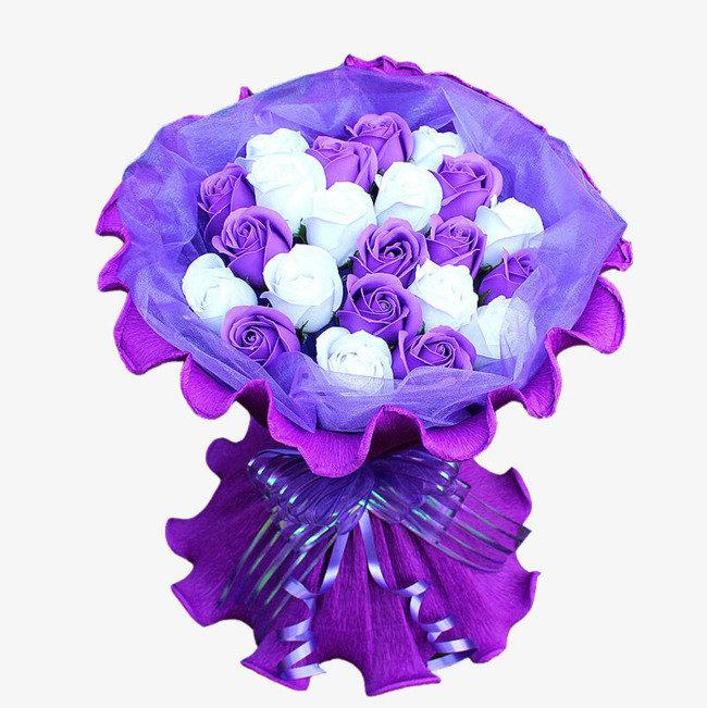 Букет роз сиреневых, цветы дом