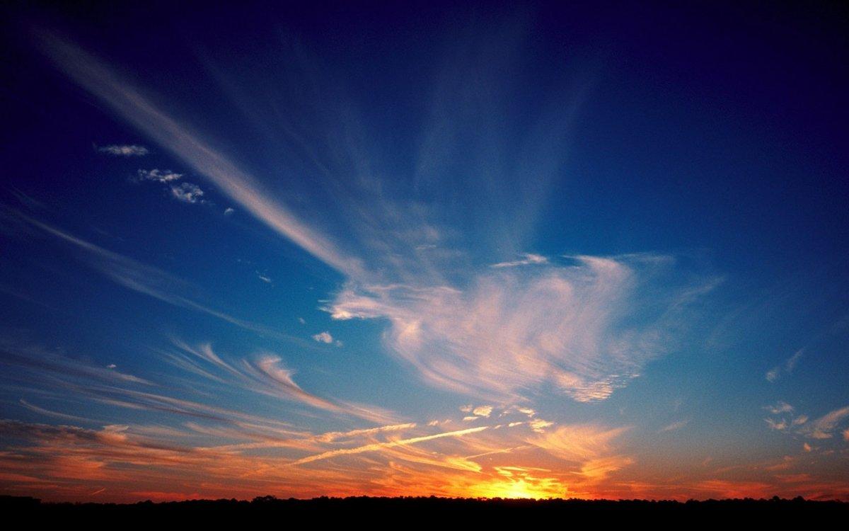них самое красивое небо фото особо волновались успехи