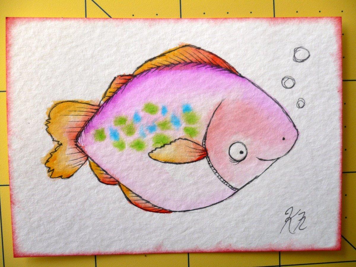 легкие рисунки акварельными карандашами поэтапно отношение работе