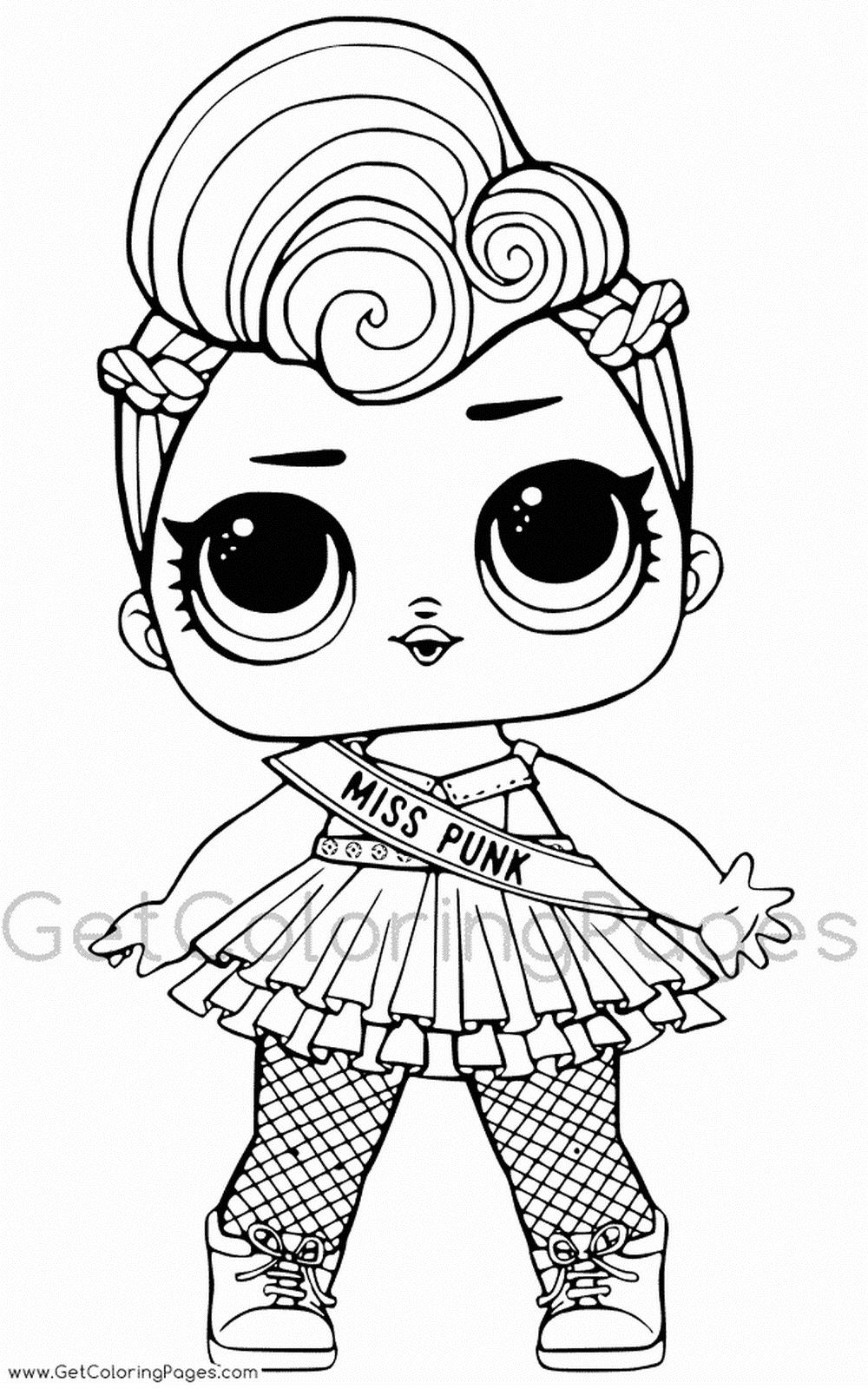 «Раскраски ЛОЛ раскраска LOL куклы разукрашки: распечатать ...