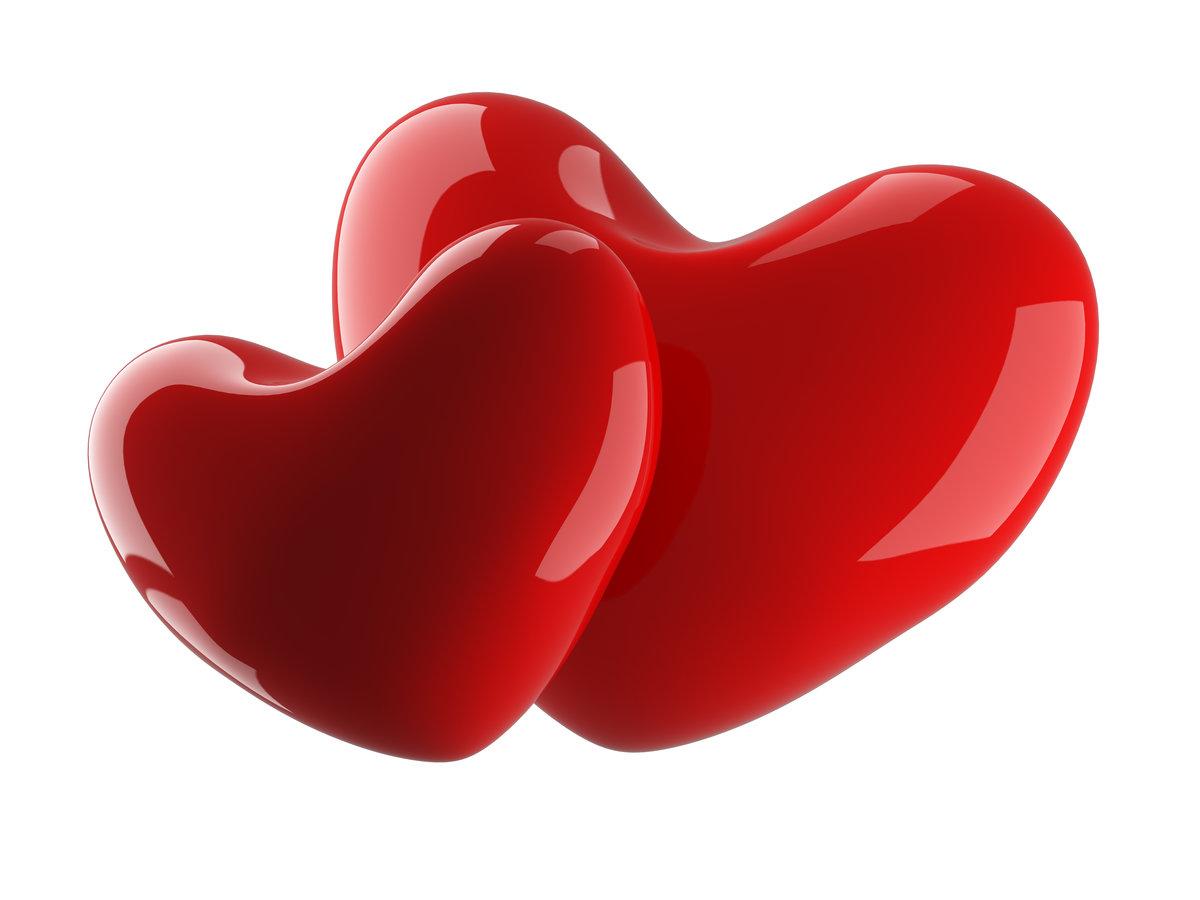 Картинки красного сердца
