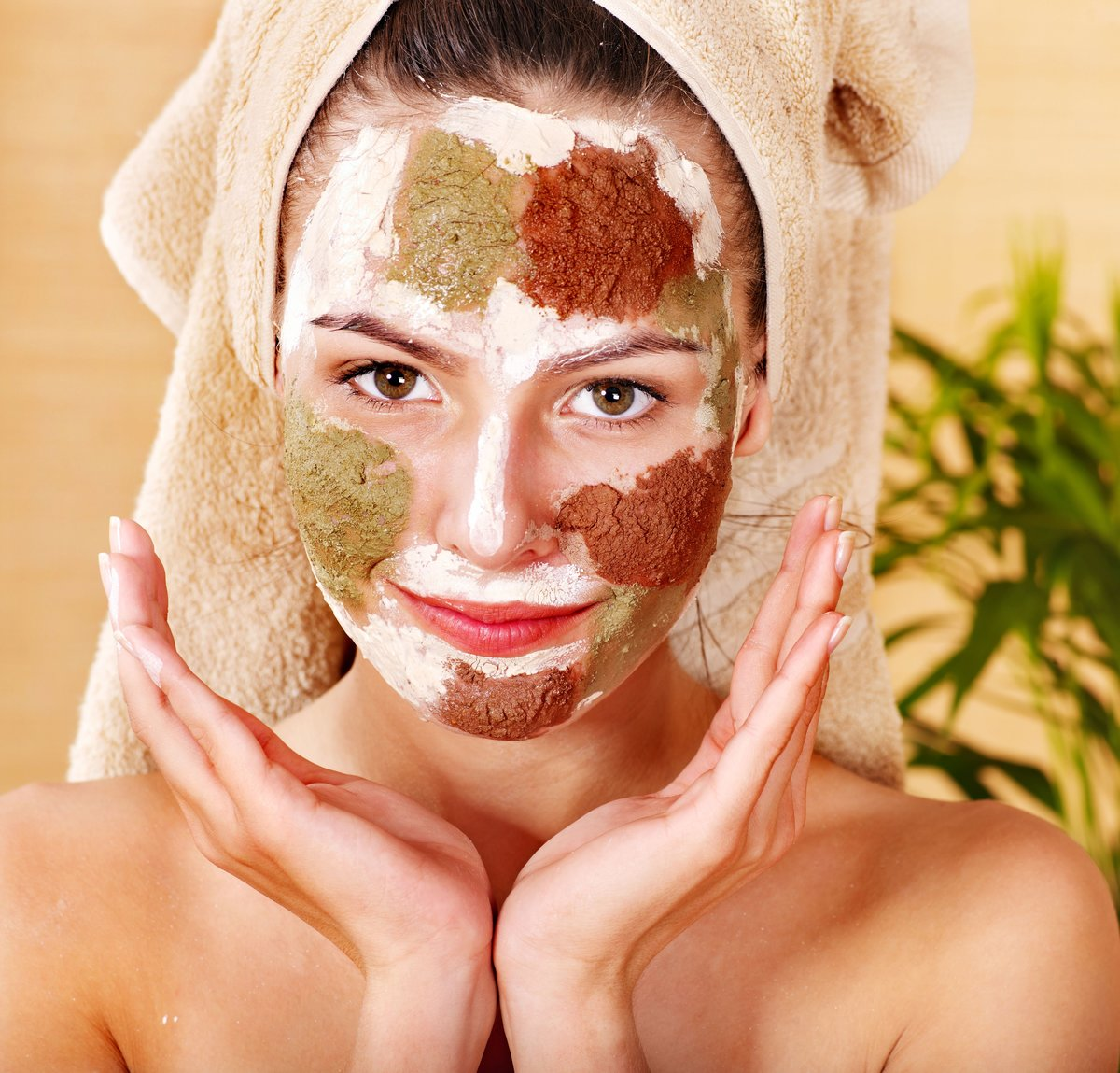 Очищение кожи лица и тела