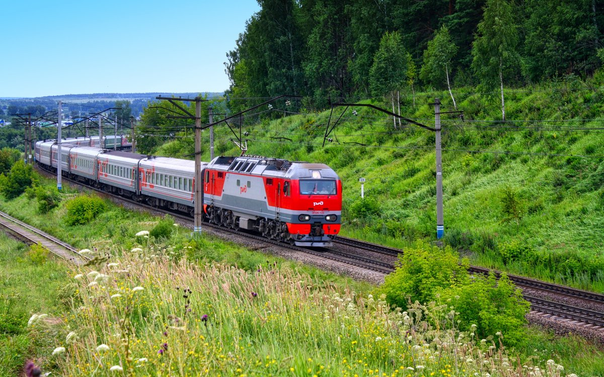Картинка с поездами
