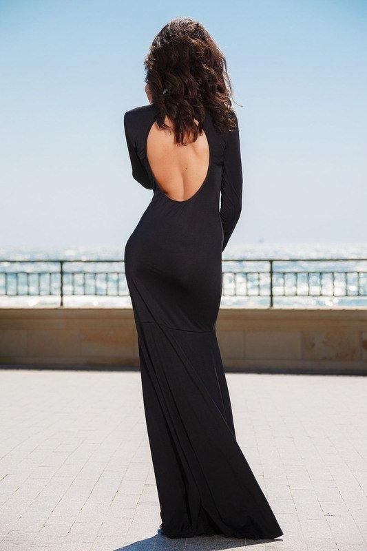 красивые девушки фото сзади в платье с открытой спиной
