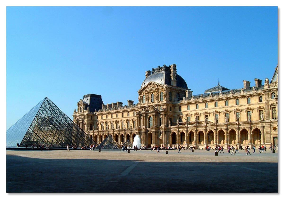 Картинки лувр в париже, подруга