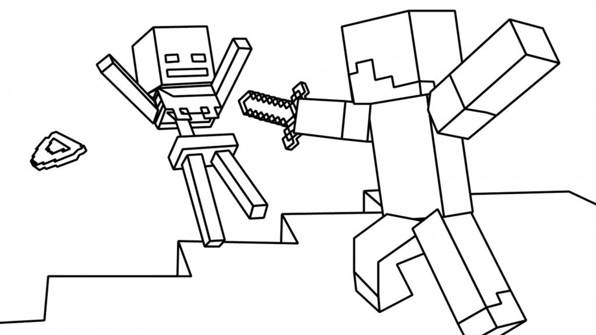«Раскраски Майнкрафт» — карточка пользователя Анастасия Ф ...