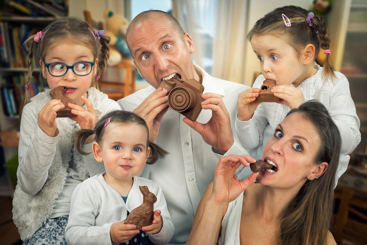 Смешные картинки семьей