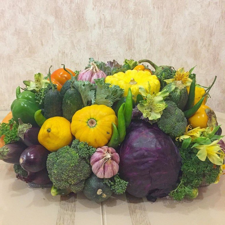 Композиция из овощей своими руками в картинках