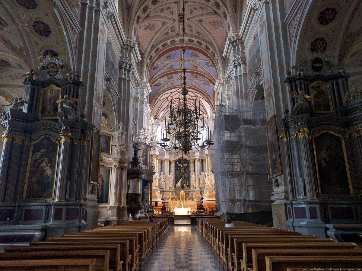 Каунас собор петра и павла фото