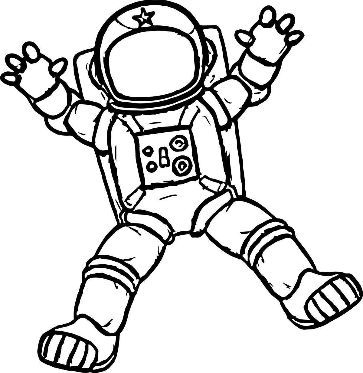 free astronaut printables - HD1200×1233