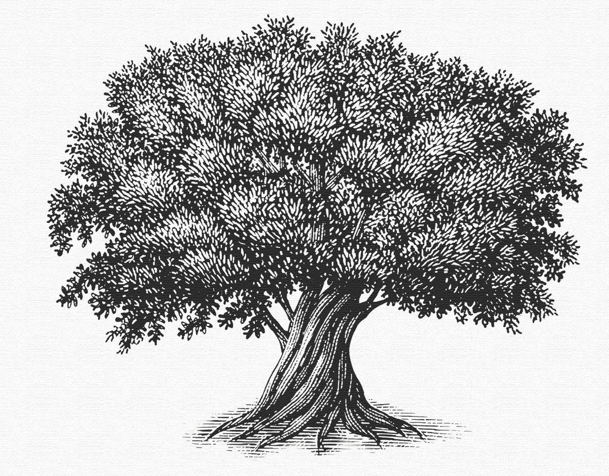 голубые деревья рисунок графика предназначены только