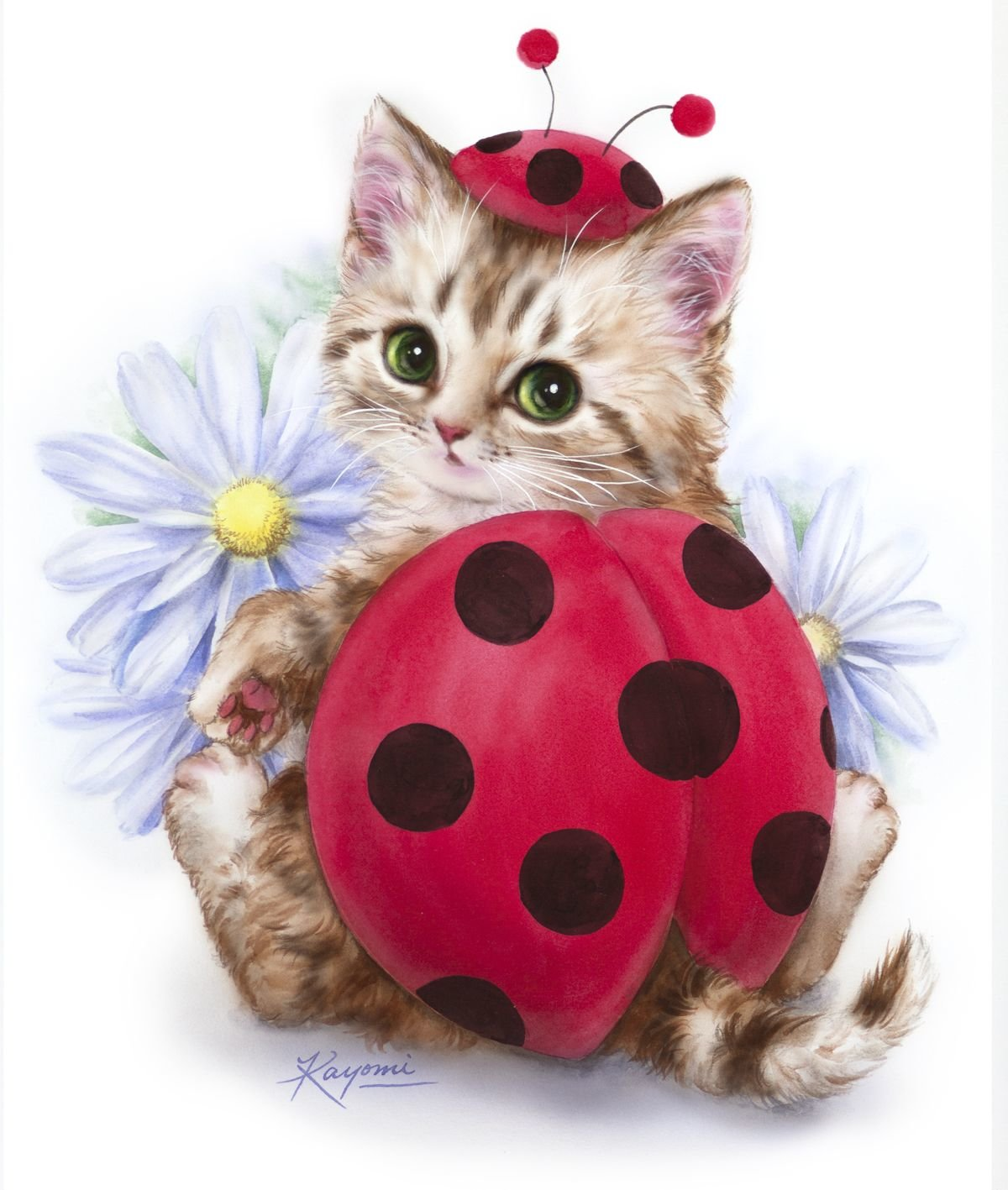Картинки, открытки кошачьи
