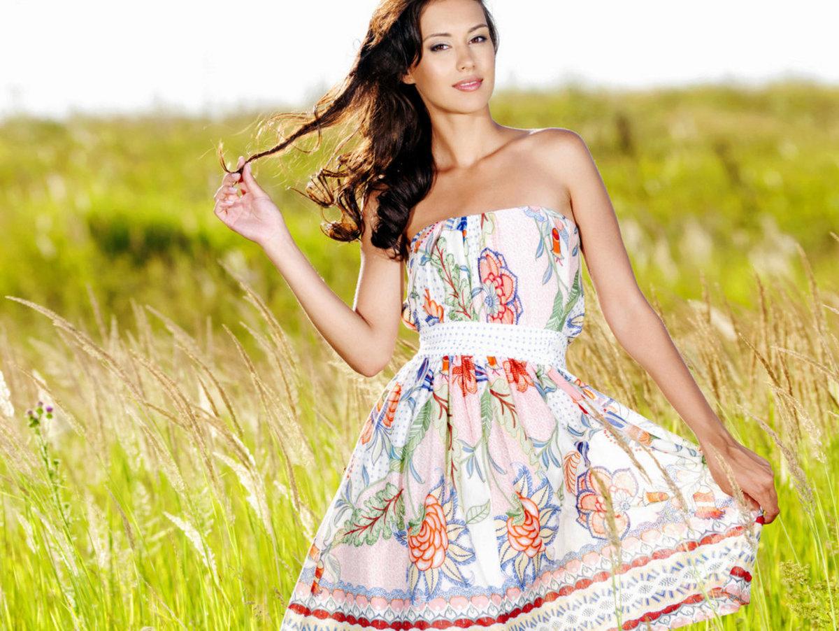 Платья лето картинки